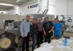 New flexographic printing line Bobst M3 Line is accepted by the customer