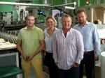 "Installation of new equipment at ""Flex-Print"" printing house"